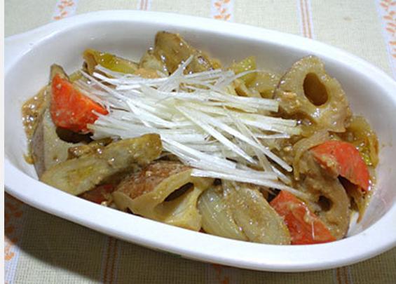 根菜の味噌マリネ