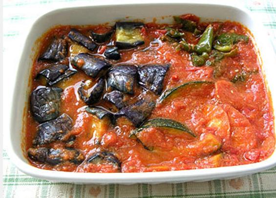 夏野菜のトマト味噌マリネ