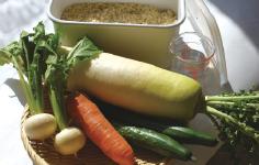 季節の野菜がオススメ