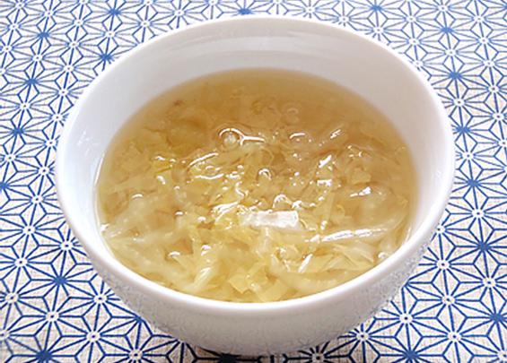 ハクサイのスープ