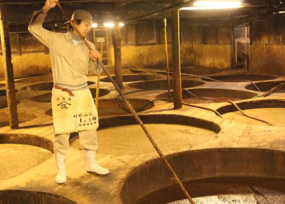 小豆島育ちの天然醸造