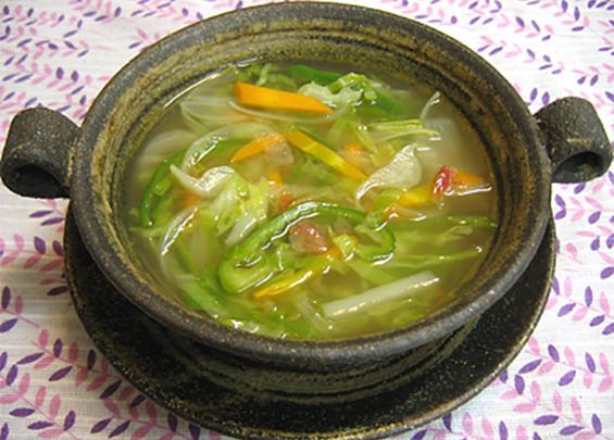 ニンジン梅スープ