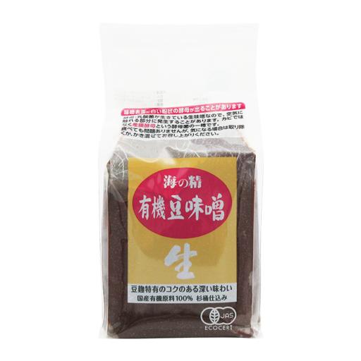 海の精 豆味噌(国産有機)