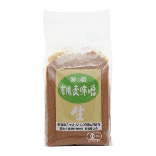 海の精 麦味噌(国産有機)