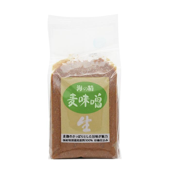 海の精 麦味噌(国産特栽)