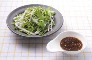塩麹たまり醤油 ドレッシングのサラダ